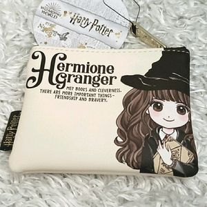 NWT Loungefly Harry Potter Hermione Coin Purse